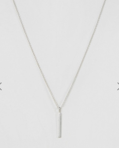 ASOS Silver Bar Necklace