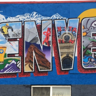 greetings denver mural